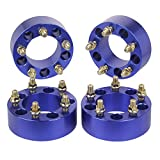HLZZ SLL-004BE 4pcs Wheel Spacers Adapters Blue - 2