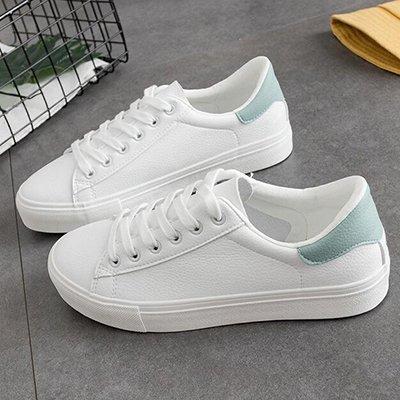 De Blue NGRDX White Deportivo Pu Mujer Calzado Ventilación Blanco Mujer Zapatos Mujer Primavera Cuero amp;G Zapatos De aUaBnYx