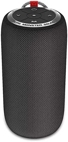 Monster Bluetooth Speaker, Superstar S310 Portable Bluetooth Speakers 5.0 with TWS Pairing Deliver Dynamic Stereo Sound, 20H Playtime, Built-in Mic, Wireless Portable Speaker for Home Office Outdoor