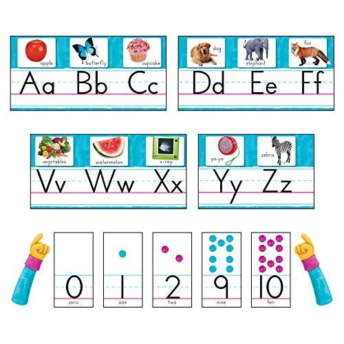Color Harmony Photo Alphabet Bulletin Board Set ()