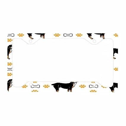 Amazon.com: Entlebucher Mountain Dog Dog Bones Paws Auto Car License ...