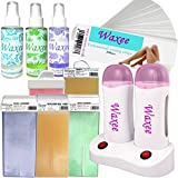 Waxee- Double base PROFESSIONAL roll-on waxing kit- High quality