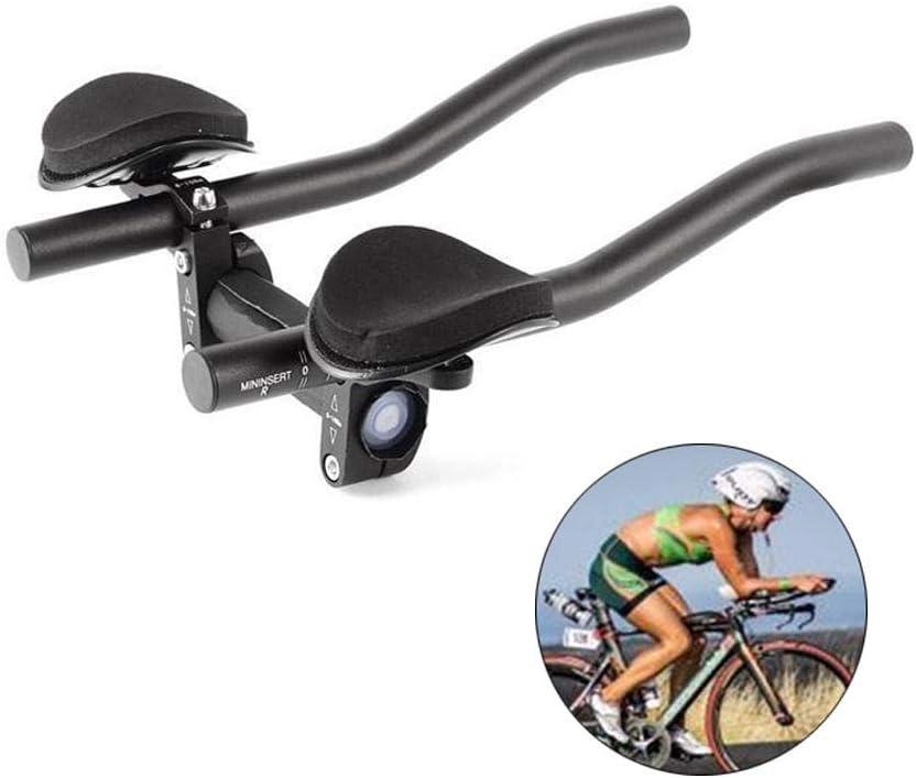Manillar De Bicicleta, Manillar De Descanso De Bicicleta De Triatlón, Manillar De Descanso De Bicicleta De Montaña O Carretera (Negro): Amazon.es: Deportes y aire libre