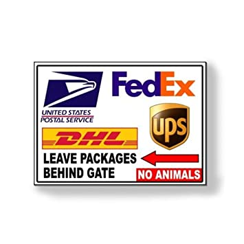 Amazon New Delivery Instructions Leave Package Behind Gate No