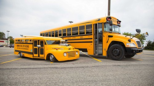 Souped Up School Bus: Custom Motor Helps Charities Across The (Eldorado Frame)