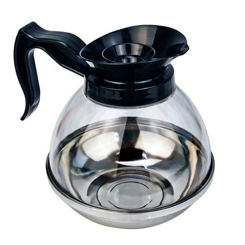 Foodservice Essentials CD-64PB 64 Oz Coffee Decanter, Black