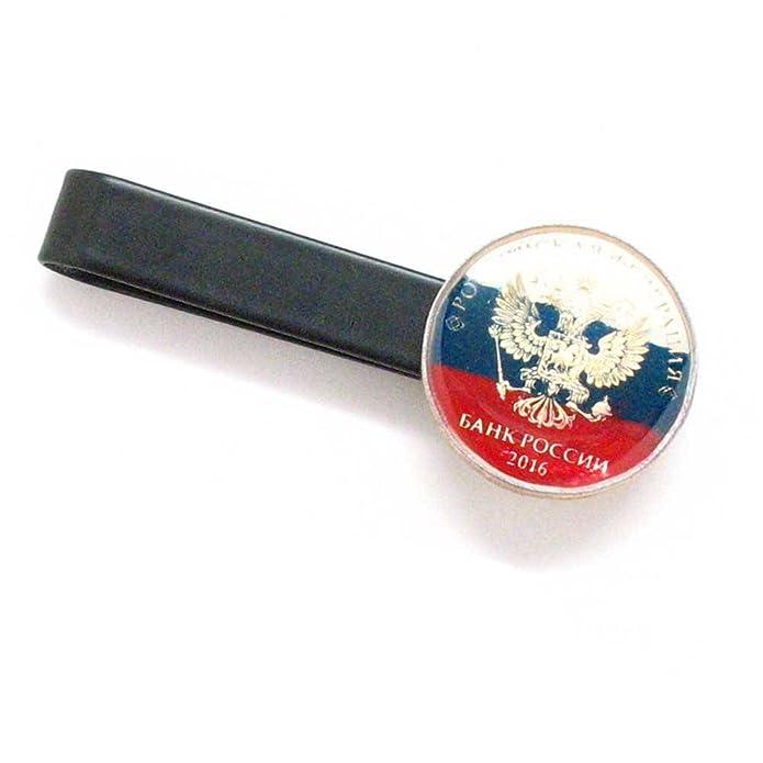 The Traveling Penny Traje de corbata con clip para barra de ...
