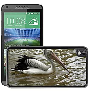 Hot Style Cell Phone PC Hard Case Cover // M00108885 Pelican Swimming Water Bird Fly // HTC Desire 816