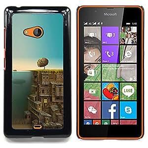 SKCASE Center / Funda Carcasa protectora - Ciudad Subterránea;;;;;;;; - Nokia Lumia 540