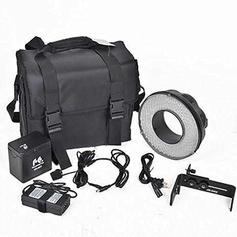 Amazon.com: fomito Portable LED Macro Anillo de luz de flash ...