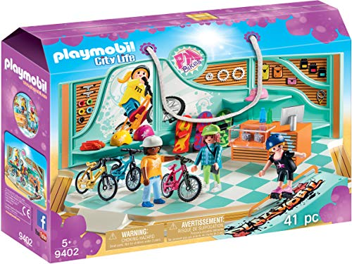 - PLAYMOBIL® Bike & Skate Shop, Multicolor
