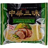 Myojo Chukazanmai Instant Ramen Oriental Flavor, 3.52-Ounce (Pack of 6)