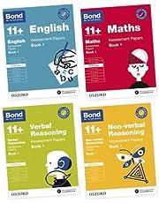 BOND 11+ English, Maths, Non-verbal Reasoning, Verbal Reasoning: Assessment Papers: 10-11 Years Bundle