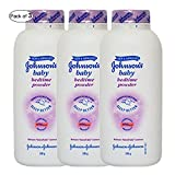 Johnson's Baby Bed Time Powder (100g) (Pack of 3)