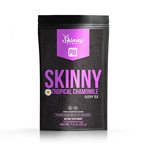 Skinny Bunny Tea PM Weight Loss & Detox Tea: Manage Weight, Support Immune System, Healthy Cleanse & Promote Health with Antioxidants (Single Cans) (Tropical, 14 Day Supply) Review