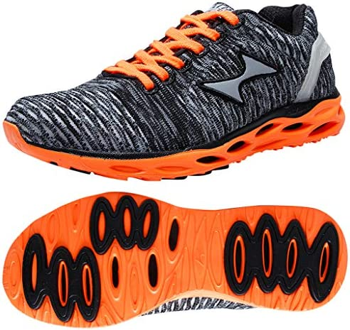 HEALTH Women's Men's Knit Running Shoes Lightweight Cushioni