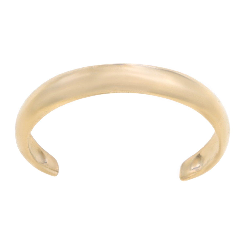 Lavari - 10K Yellow Gold Toe Ring Adjustable