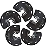 ACTOMASTER Bi-Metal Oscillating Segmented Saw Blade for Oscillating Tool Multitool, Pack of 5