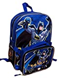 Batman DC Comics Backpack Detachable Insulated Lunch Bag