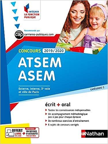 0469dc9129e Amazon.fr - Concours ATSEM-ASEM - Catégorie C - Intégrer la fonction  publique - 2019-2020 - Louisa REBIH - Livres