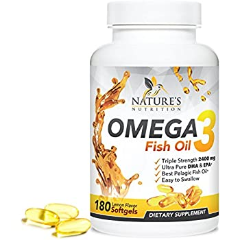 Omega 3 fish oil w triple strength epa dha for Fish oil brain