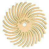 Dedeco Sunburst - 7/8 Inch TC Radial Bristle Discs