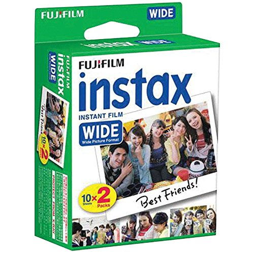 Fujifilm Instax Wide Instant Film 4 Twin Packs =80 Prints