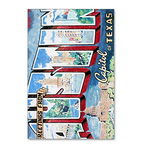 CafePress - Greetings From Austin Jou - Postcards (Package of 8), 6
