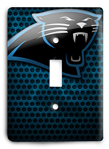 NFL Come Hard Panthers Light Switch Cover