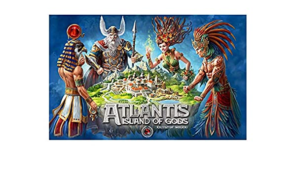 Kawerna Atlantis Island of Gods Juego de Mesa: Amazon.es: Juguetes ...
