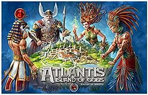 Kawerna Atlantis Island of Gods Juego de Mesa: Amazon.es: Juguetes y juegos