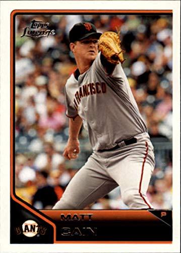 2011 Topps Lineage #119 Matt Cain Giants MLB Baseball Card -