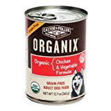 Organix Canine Canned Grain Free Organic Chicken and Vegetable, 12.7 Ounce (Pack of 6), My Pet Supplies