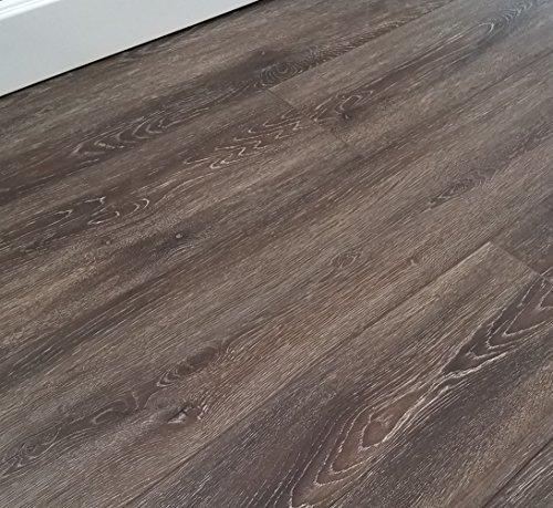 Turtle Bay Floors Rich, Refined Floating Laminate Flooring 8mm Unilin AC4 - Choose From 2 Colors (SAMPLE, LAWTON)