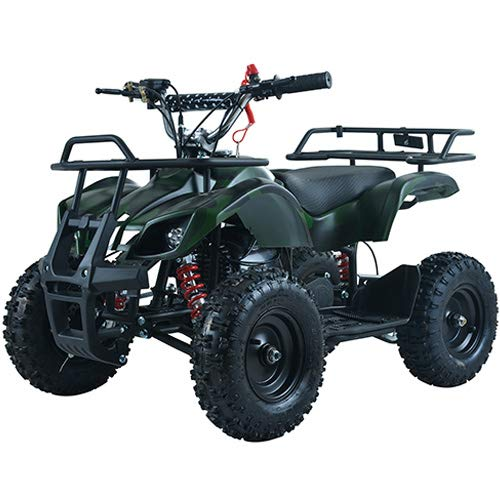X-Pro Kids ATV 4 Wheelers 40cc Quads Kids Quad with Gloves, Goggle and Handgrip (Spider Black) by X-Pro (Image #4)