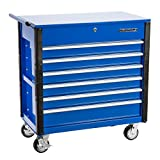 OEMTOOLS  Tools 24967 Professional 6-Drawer Tool Service Cart, Blue