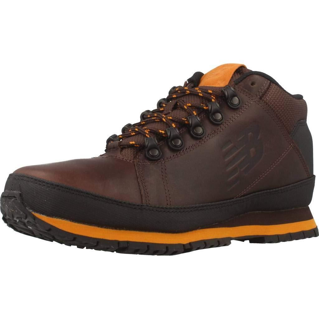 Brown-orange New Balance 754, Unisex-Adults' Combat Boot