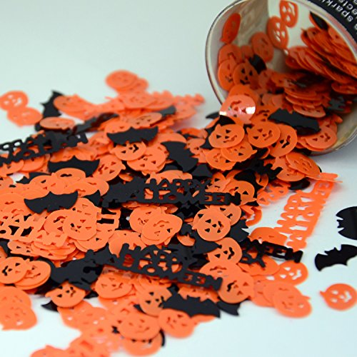 Confetti Mix - Pumpkins, Bats, Happy Halloween - Retail Pack #9444 - Free -