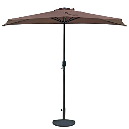 b28d0586657f Amazon.com : Patio Umbrella. Large Outdoor Adjustable Parasol W ...