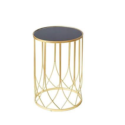 Amazon Com Tangmengyun Nordic Light Luxury Iron Art Coffee Table