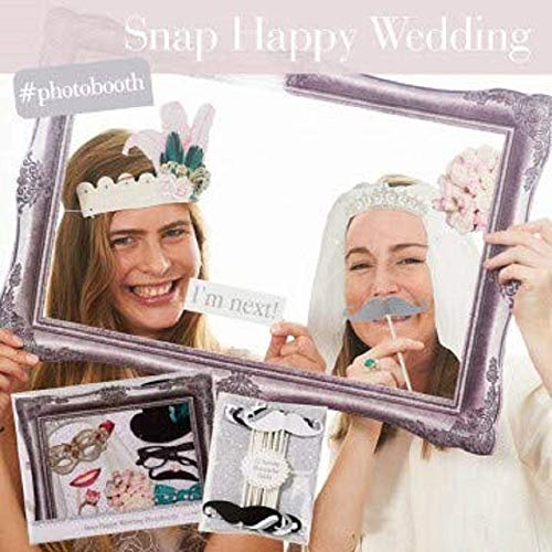 (Wedding Photo Booth Props includes Large 24