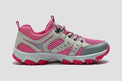 Camel Womens Professional Breathable Qukck-dry Low Top Walking Hiking Shoes Pink 6lHVh