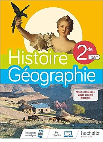 Histoire Geographie 2de Compilation Livre De L Eleve