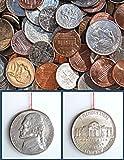 Shomer-Tec Covert Escape Nickel Coin Compass