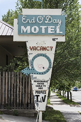 16 X 24 Art Canvas Wrapped Frame Giclee Print Of In 2007 The Owner The Old End Oday Motel An Affordable Housing Option To Say The Least For Durango Colorado Low Income Residents A 2015 Highsmith 78A