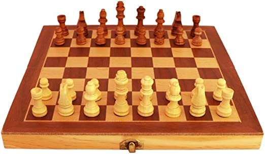 Chess Premium Wooden Handcrafted Folding Chess Set (Large Size)