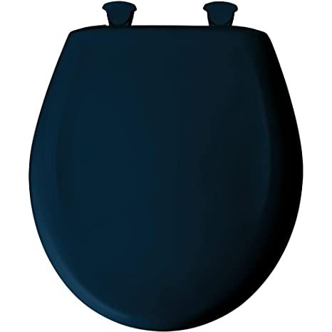 Marvelous Bemis 200Slowt 244 Lift Off Plastic Round Slow Close Toilet Seat Navy Gmtry Best Dining Table And Chair Ideas Images Gmtryco