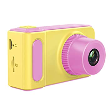 HANG Cámara Digital de Juguete para niños, cámara Mini Zoom para niños, 2 Pulgadas, Pantalla, 8MP HD 1080P para Girl Boy,Pink: Amazon.es: Deportes y aire ...