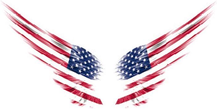1 Stücke Flügel Auto Auto Body Aufkleber Reflektierende Selbstklebende Side Truck Graphics Decals Amerikanische Flagge England Flagge Deutsche Flagge Usa Auto