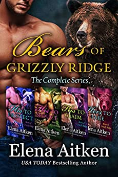 Bears of Grizzly Ridge: A BBW Paranormal Shifter Romance by [Aitken, Elena]